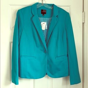 NWT Stylish teal blazer from the Limited.